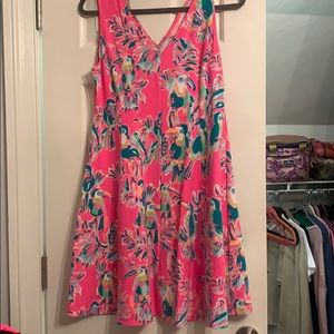 Lilly Pulitzer Dahlia Dress Toucan Can